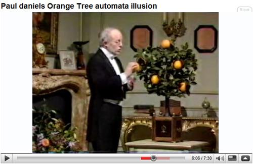 L'Oranger Automate de Robert Houdin