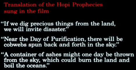 hopi prophecies
