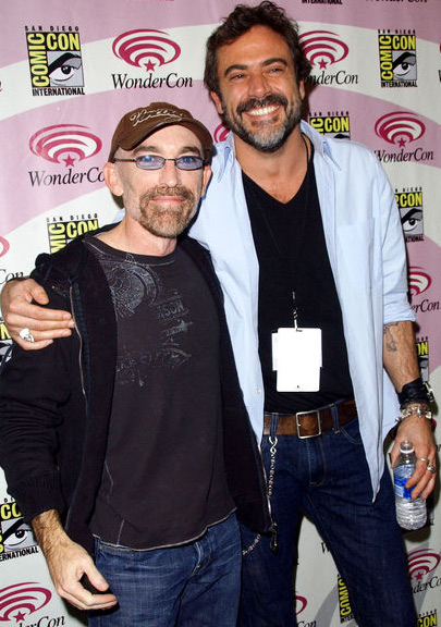 Jackie Earl Haley et Jeffrey Dean Morgan