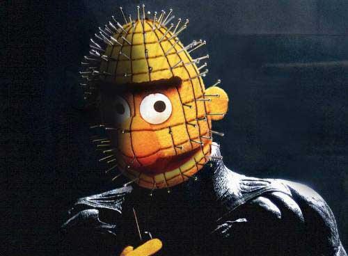 Hellraiser Bart Muppets